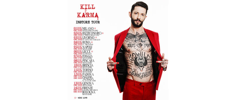 Nesli: esce venerdì 1 luglio 'Kill Karma', il nuovo disco