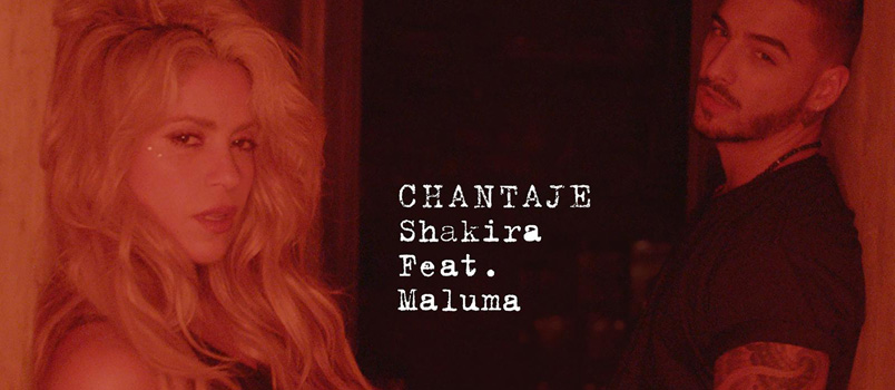 Shakira torna con il singolo Chantaje