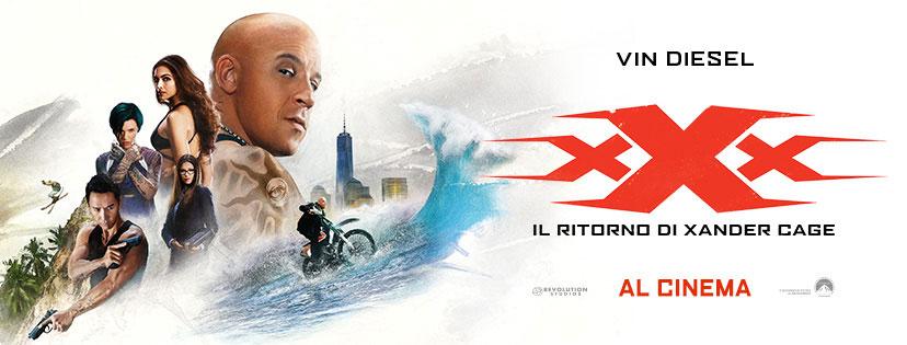 """Vin Diesel in """"xXx: Il ritorno di Xander Cage"""" al cinema"""