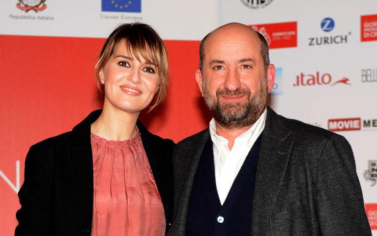 Paola Cortellesi e Antonio Albanese in Mamma o Papà?