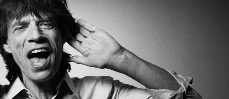 Mick Jagger e l'autobiografia dimenticata