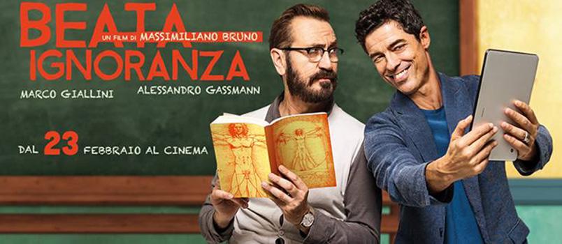 """""""Beata Ignoranza"""" con Marco Giallini e Alessandro Gassmann al cinema dal 23 febbraio"""