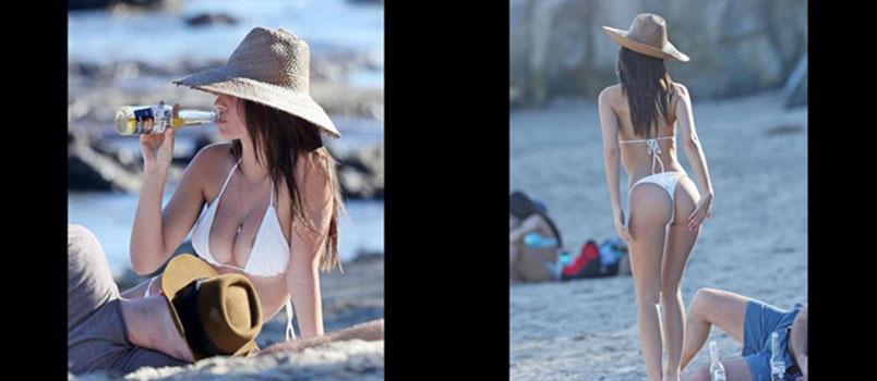 Emily Ratajkowski in bikini mozzafiato a Malibù