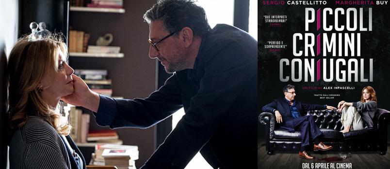 """Sergio Castellitto e Margherita Buy in """"Piccoli crimini coniugali"""", dal 6 aprile al cinema"""