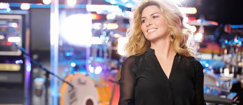 "Shania Twain annuncia il nuovo singolo ""Life's About to Get Good"""