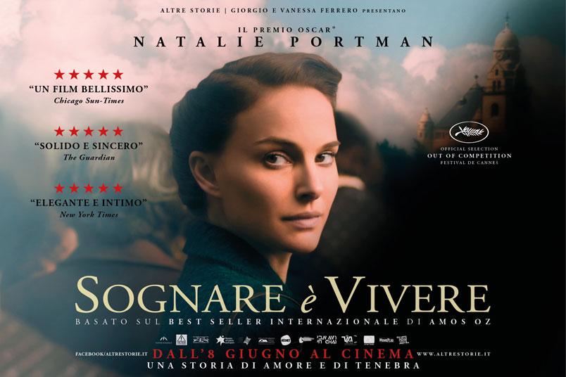 Natalie Portman regista e interprete di Sognare è Vivere, da giovedì 8 giugno al cinema