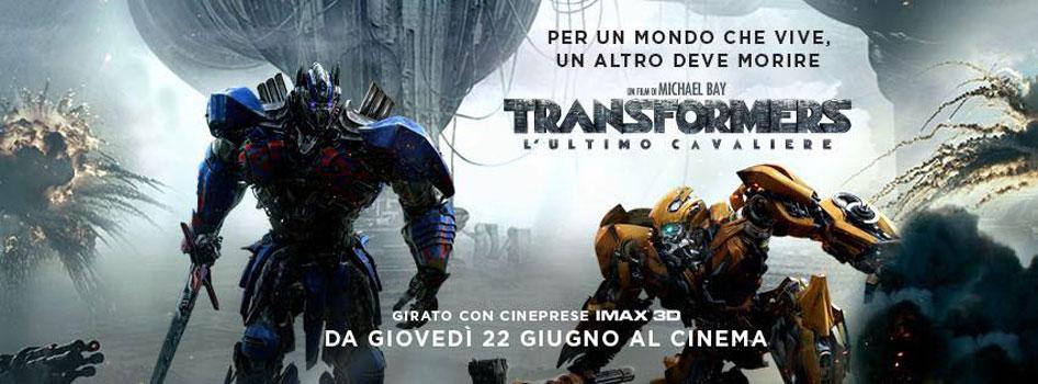 Transformers – L'ultimo cavaliere di Michael Bay, dal 22 giugno al cinema