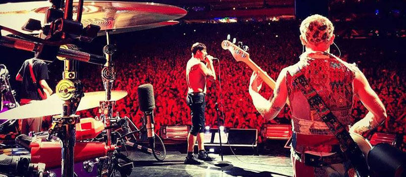 In 30mila per i Red Hot Chili Peppers a Roma