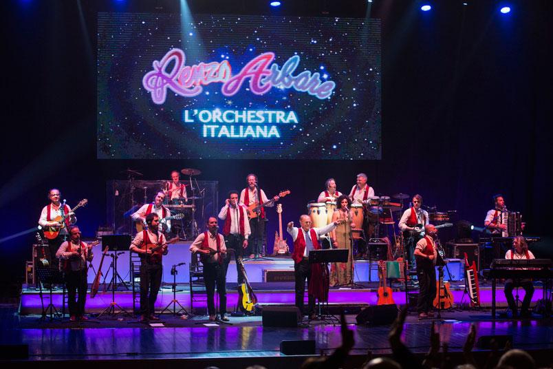 Renzo Arbore e l'Orchestra Italiana: il 24 luglio in concerto a Roma