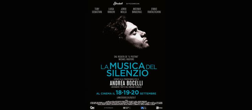 """A settembre arriva al cinema """"La Musica del Silenzio"""" il film ispirato alla vita di Andrea Bocelli"""