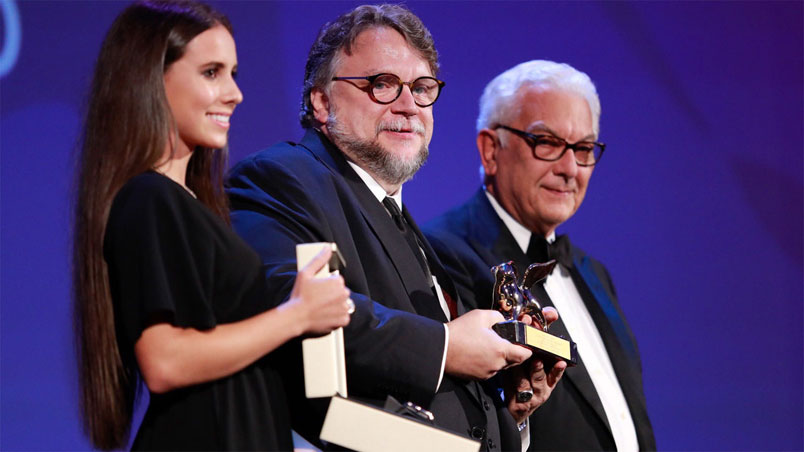 "Venezia 74. Leone d'Oro a Guillermo Del Toro per ""The Shape of Water"""