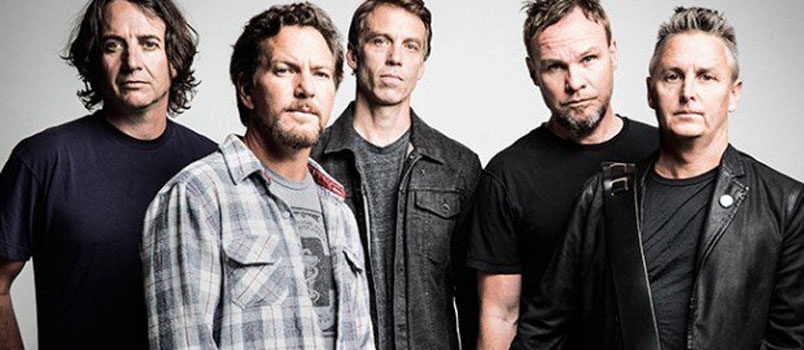 "Pearl Jam. Nei negozi e in digitale la colonna sonora del film-documentario ""Let's Play Two"""