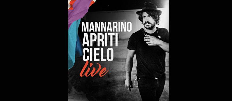 """Il 20 ottobre esce """"Apriti Cielo Live"""" il primo album dal vivo di Mannarino"""