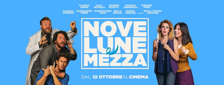 """""""Nove Lune e Mezza"""" opera prima di Michela Andreozzi, dal 12 ottobre al cinema"""
