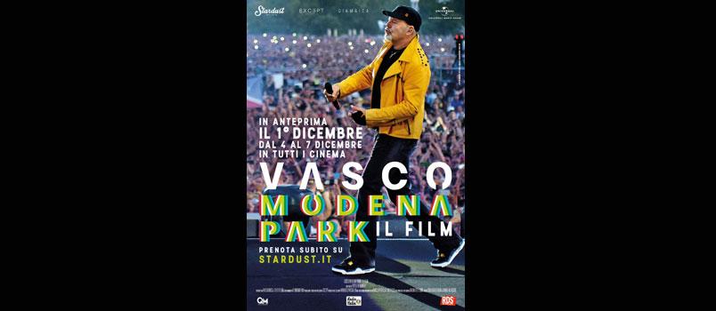 Vasco Modena Park – Il Film, arriva al cinema