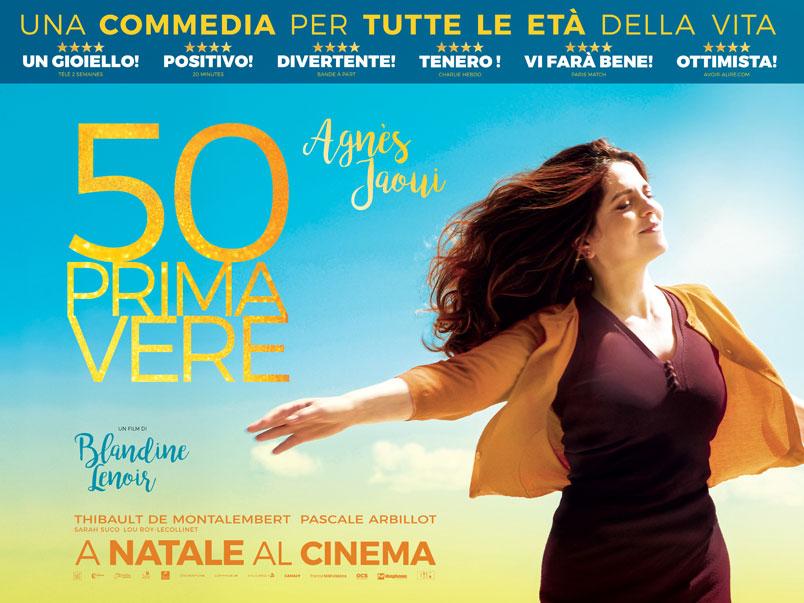 50 primavere di Blandine Lenoir con Agnès Jaoui, dal 21 dicembre al cinema