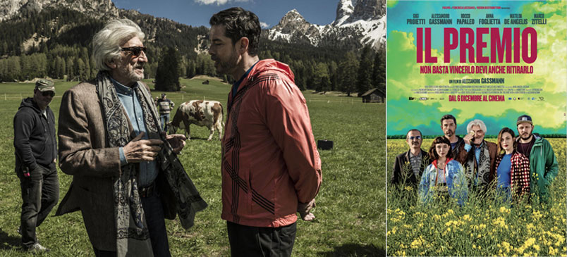 """""""Il Premio"""" il nuovo film di Alessandro Gassmann con Gigi Proietti"""