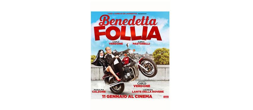 Benedetta Follia: il nuovo film di Carlo Verdone, da giovedì 11 gennaio al cinema