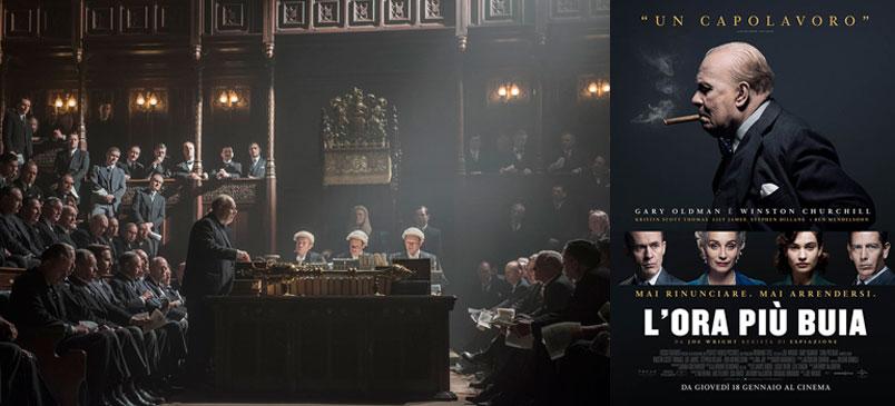 "Gary Oldman è Winston Churchill in ""L'ora più buia"", al cinema dal 18 gennaio"