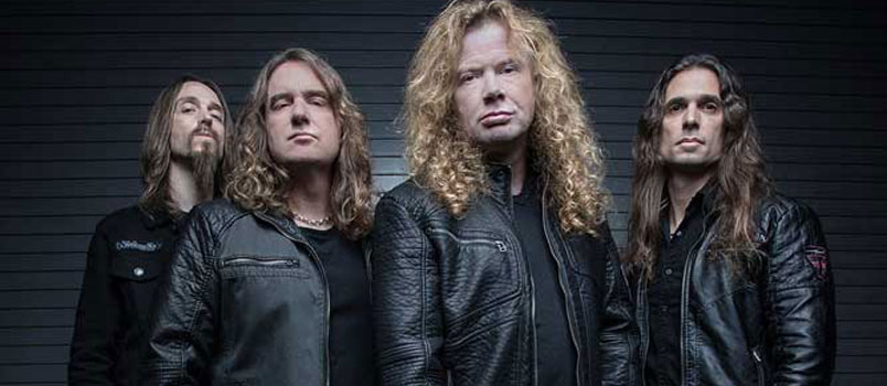 I Megadeth al Rock in Roma 2018