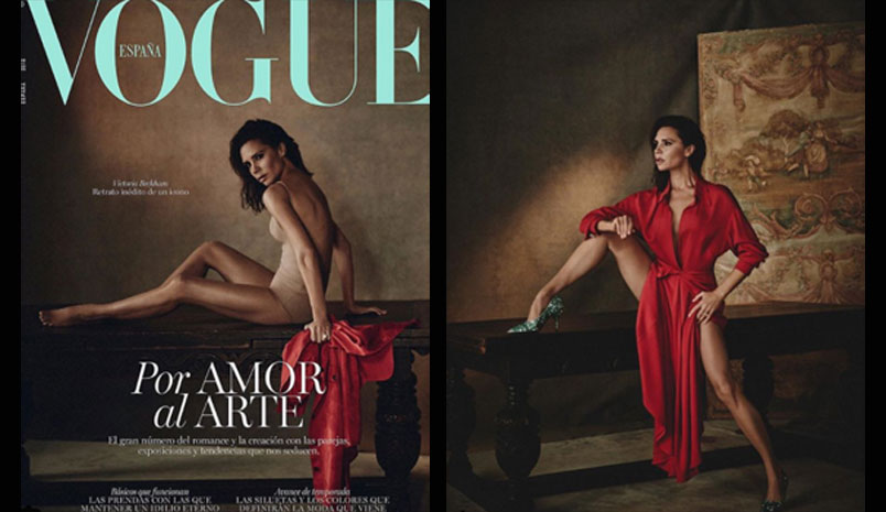 Victoria Beckham posa per Vogue Spagna