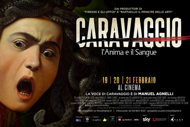 Caravaggio – L'anima e il sangue, dal 19 al 21 febbraio al cinema