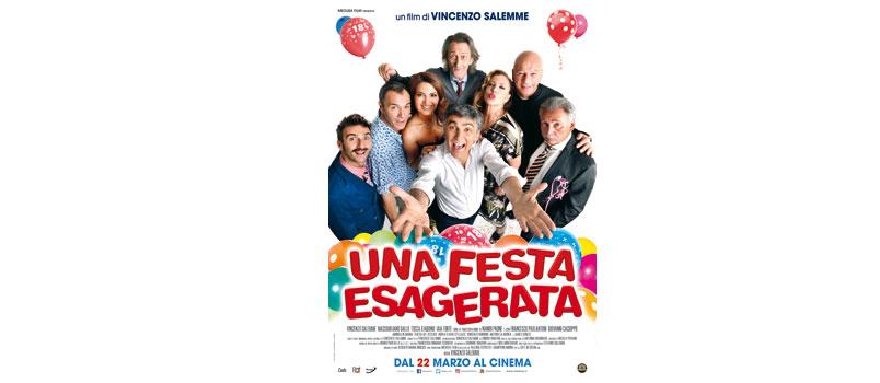 """""""Una Festa Esagerata"""" il nuovo film di Vincenzo Salemme, al cinema dal 22 marzo"""