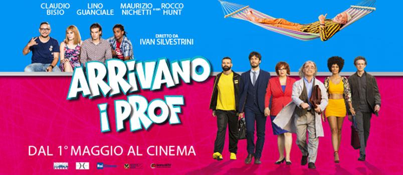 """""""Arrivano i Prof"""", la nuova divertente commedia di Ivan Silvestrini, da martedì 1 maggio al cinema"""
