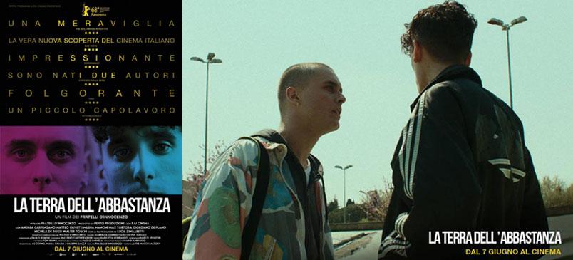 """""""La terra dell'abbastanza"""": opera prima dei Fratelli D'Innocenzo, dal 7 giugno al cinema"""