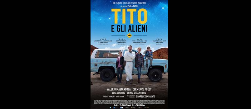 """""""Tito e gli Alieni"""" di Paola Randi con Valerio Mastandrea, dal 7 giugno al cinema"""