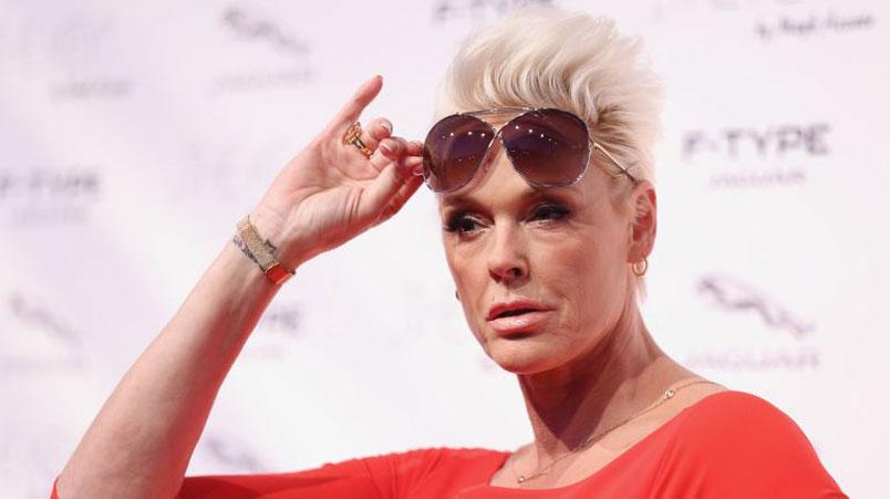 Brigitte Nielsen incinta a 54 anni