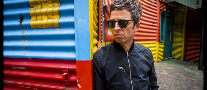 "Noel Gallagher's High Flying Birds in radio ""This is the place"""