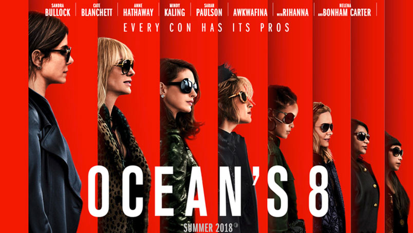 Ocean's 8 conquista la vetta del box office italiano
