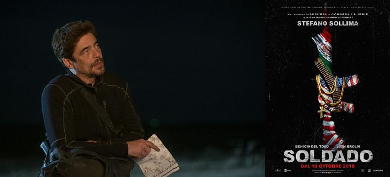 """""""Soldado"""" il nuovo film di Stefano Sollima con Benicio Del Toro"""