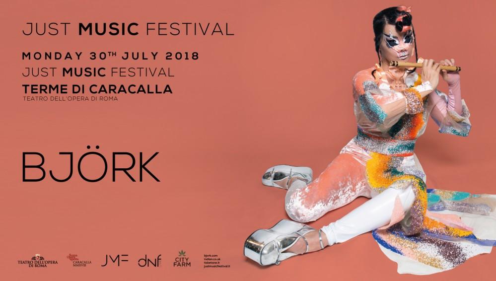 Björk live a Roma: lunedì 30 luglio alle Terme di Caracalla per l'unica data italiana