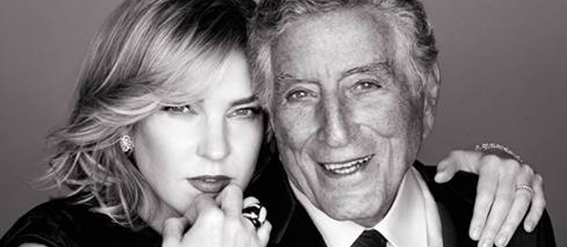 "Tony Bennett e Diana Krall annunciano l'uscita ""Love is here to stay"""