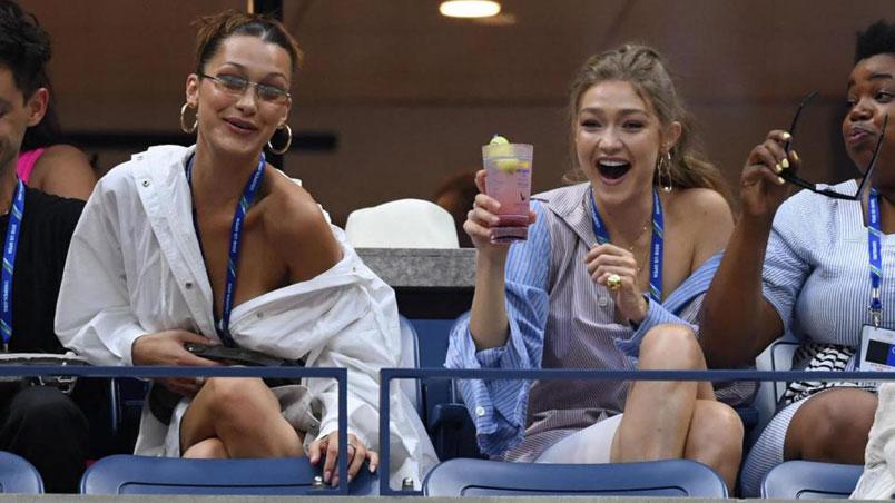 Bella e Gigi Hadid: le due sorelle se la spassano agli Us Open