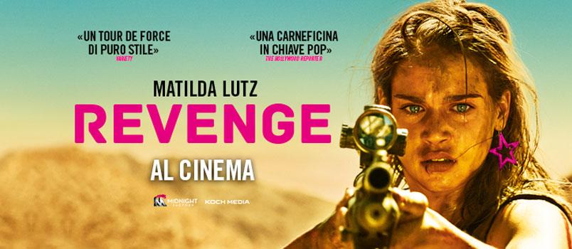 """""""Revenge"""" di Coralie Fargeat con Matilda Lutz, dal 6 settembre al cinema"""