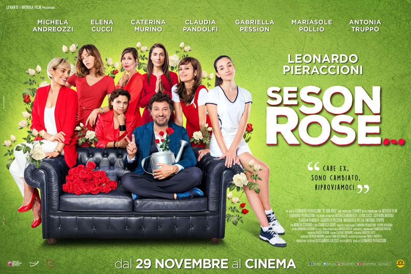 """""""Se Son Rose"""" il nuovo film di Leonardo Pieraccioni, dal 29 novembre al cinema"""