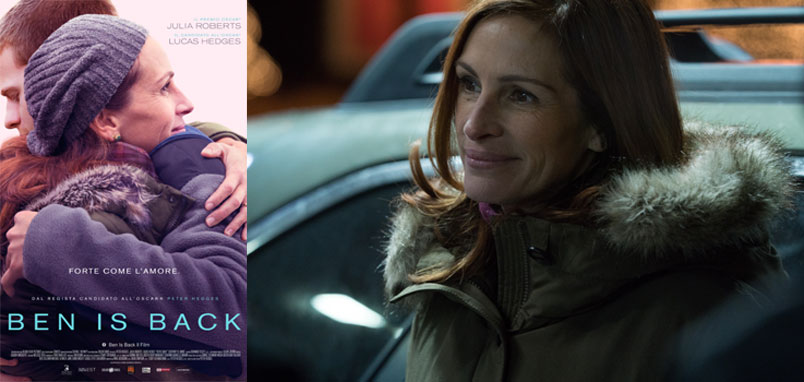 """Ben is Back"" con Julia Roberts, al cinema"