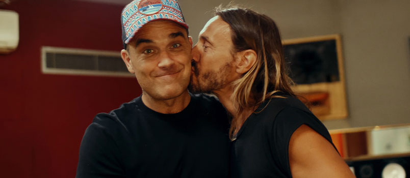 "Bob Sinclar feat. Robbie Williams con ""Electrico Romantico"", dal 18 gennaio in radio"