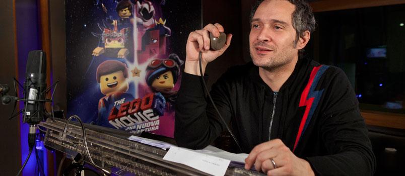 """Claudio Santamaria doppierà Batman in """"The Lego Movie 2: Una nuova avventura"""""""