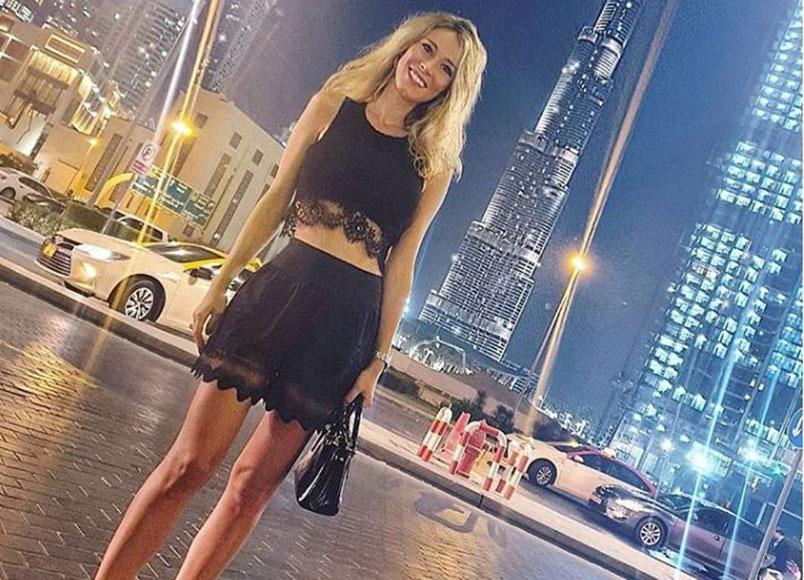 Diletta Leotta in vacanza a Dubai con un bikini mozzafiato