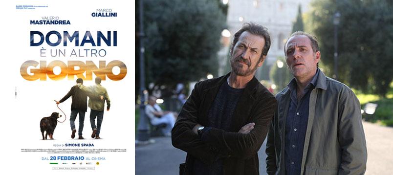 """""""Domani è un altro giorno"""" con Valerio Mastandrea e Marco Giallini: al cinema dal 28 febbraio"""