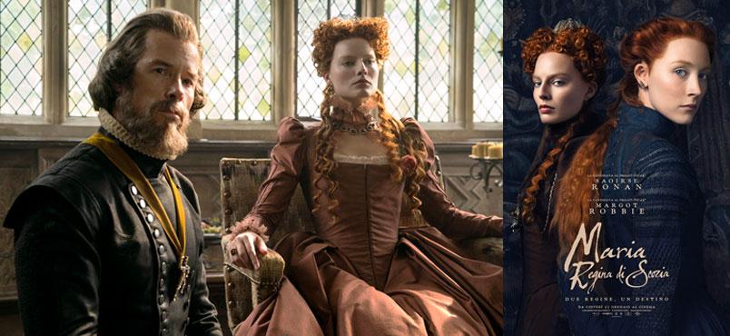 """Maria Regina di Scozia"" di Josie Rourke, al cinema dal 17 gennaio"