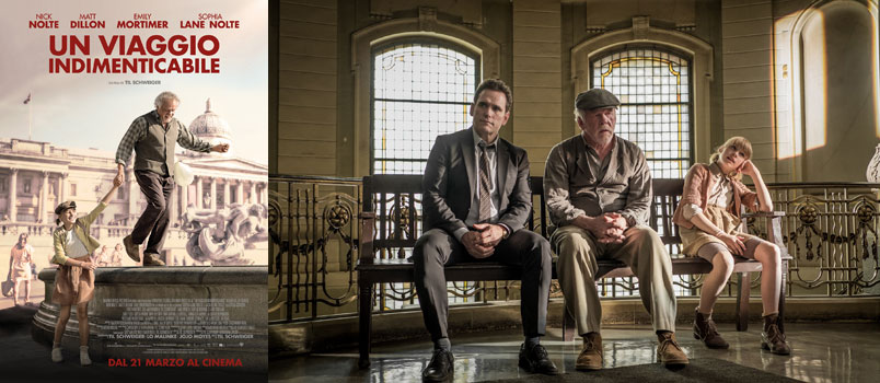 """""""Un viaggio indimenticabile"""" con Nick Nolte e Matt Dillon, dal 21 marzo al cinema"""
