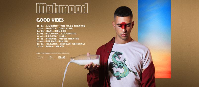 Mahmood annuncia le prime date del tour