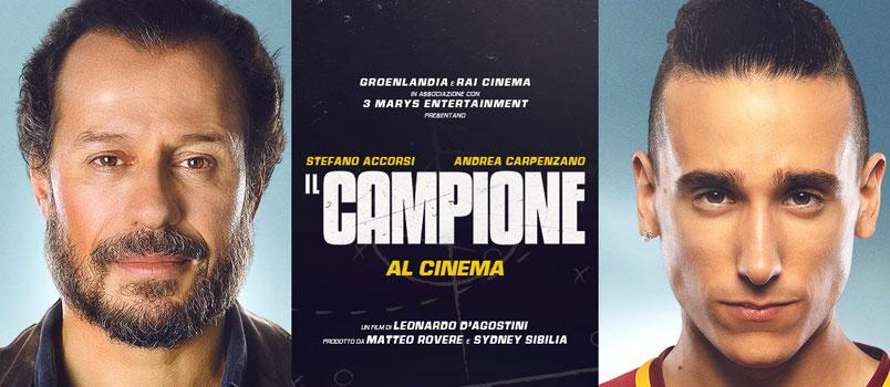 """""""Il Campione"""" di Leonardo D'Agostini con Stefano Accorsi, al cinema"""