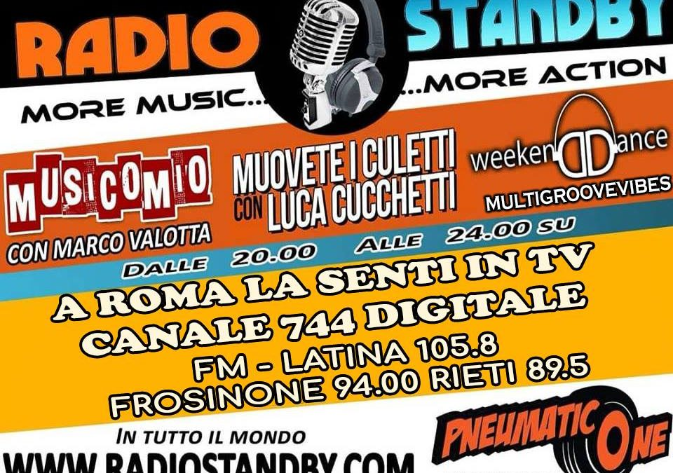 Weekend Dance su Radio Stand By dalle 20 alle 24