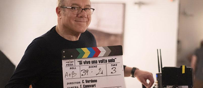 """""""Si vive una volta sola"""" il nuovo film di Carlo Verdone: al via le riprese in Puglia"""